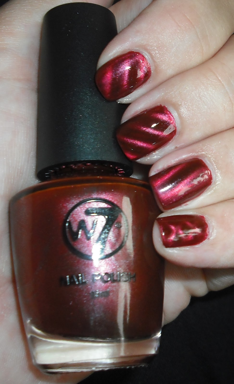 Wendy\'s Delights: W7 Magnetic Nail Polish