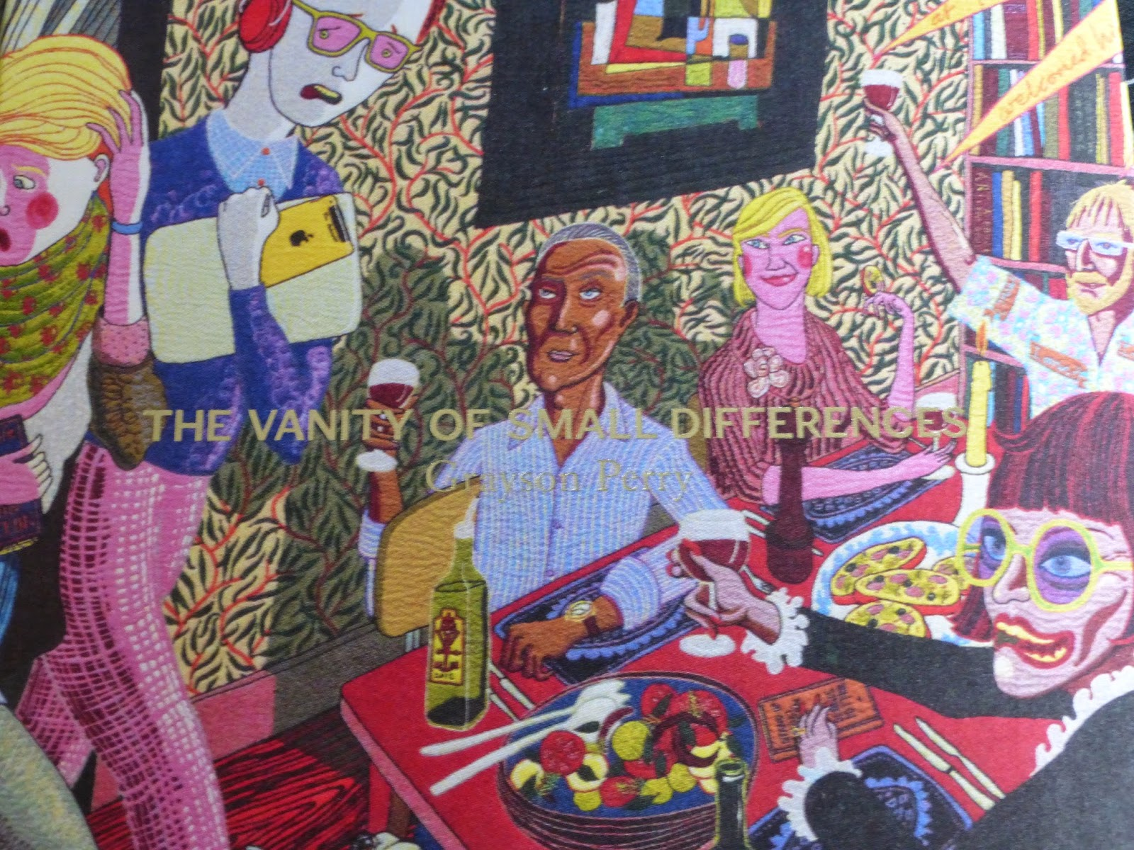 Grayson Perry image from exhibition book cover