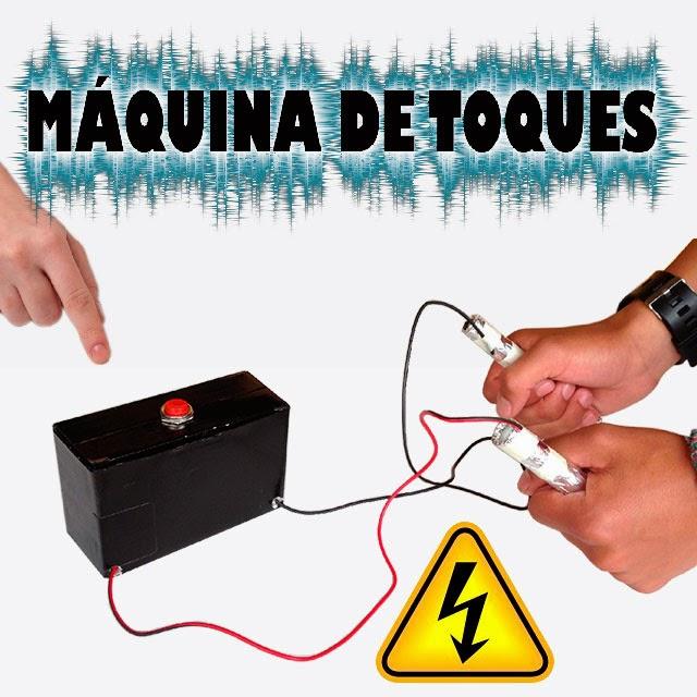 Como Hacer una Caja de Toques Eléctricos Casera