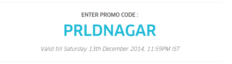 UBER Promo Code for Ahmedabad 50% off for next 5 rides till 13th Dec 2014