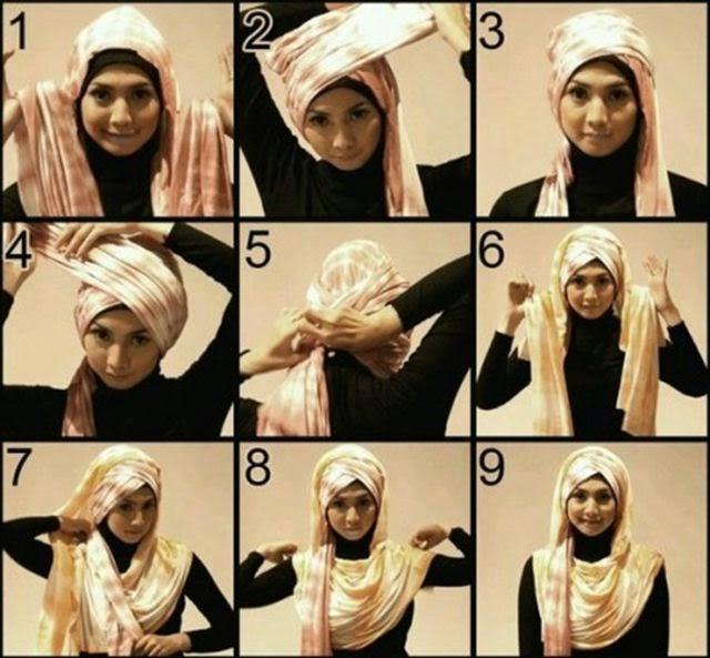 hijab terbaru 2014
