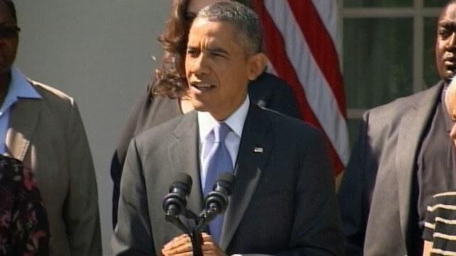 Government Shutdown Obama TRANSCRIPT: Obama tong...