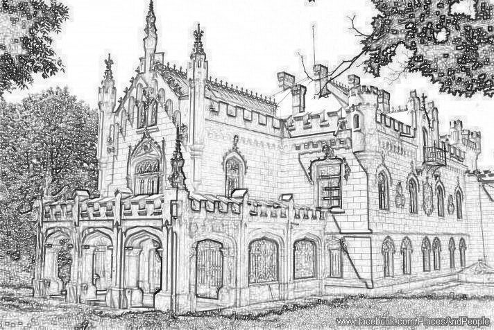 Coloring Pages For Adults Castle : Colouring pages castles castle pictures to color free