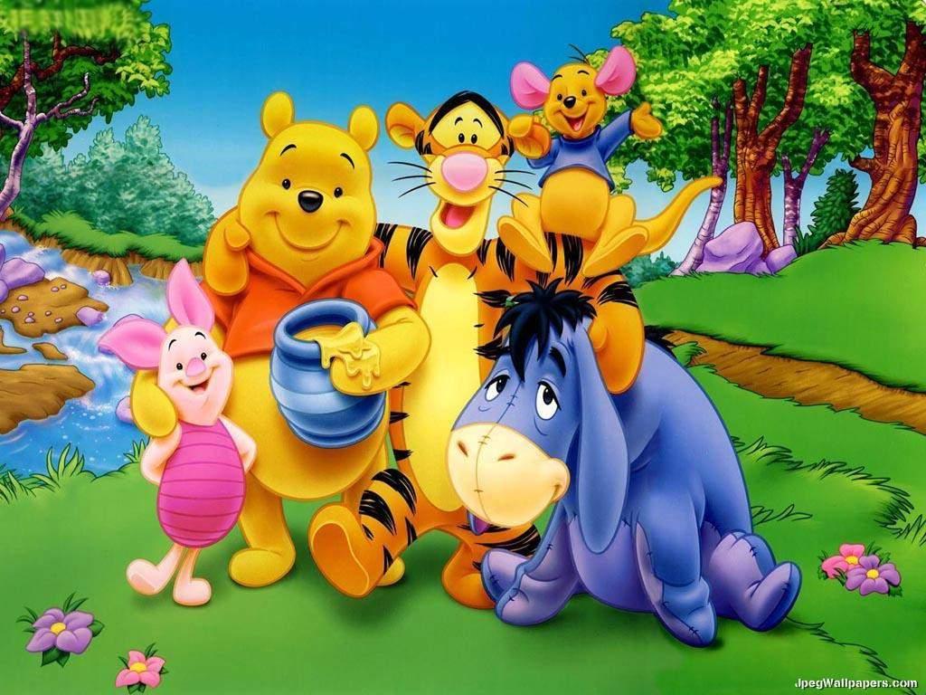 Wallpapers de Winnie the Pooh | Colorear a Heidi