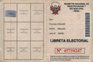 En 1996 se crea la Libreta Electoral Mecanizada (LEM)