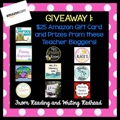 Giveaway 1 : Reading and Writing Redhead