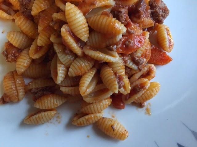 Malloreddus with lamb ragù, a Sardinian pasta