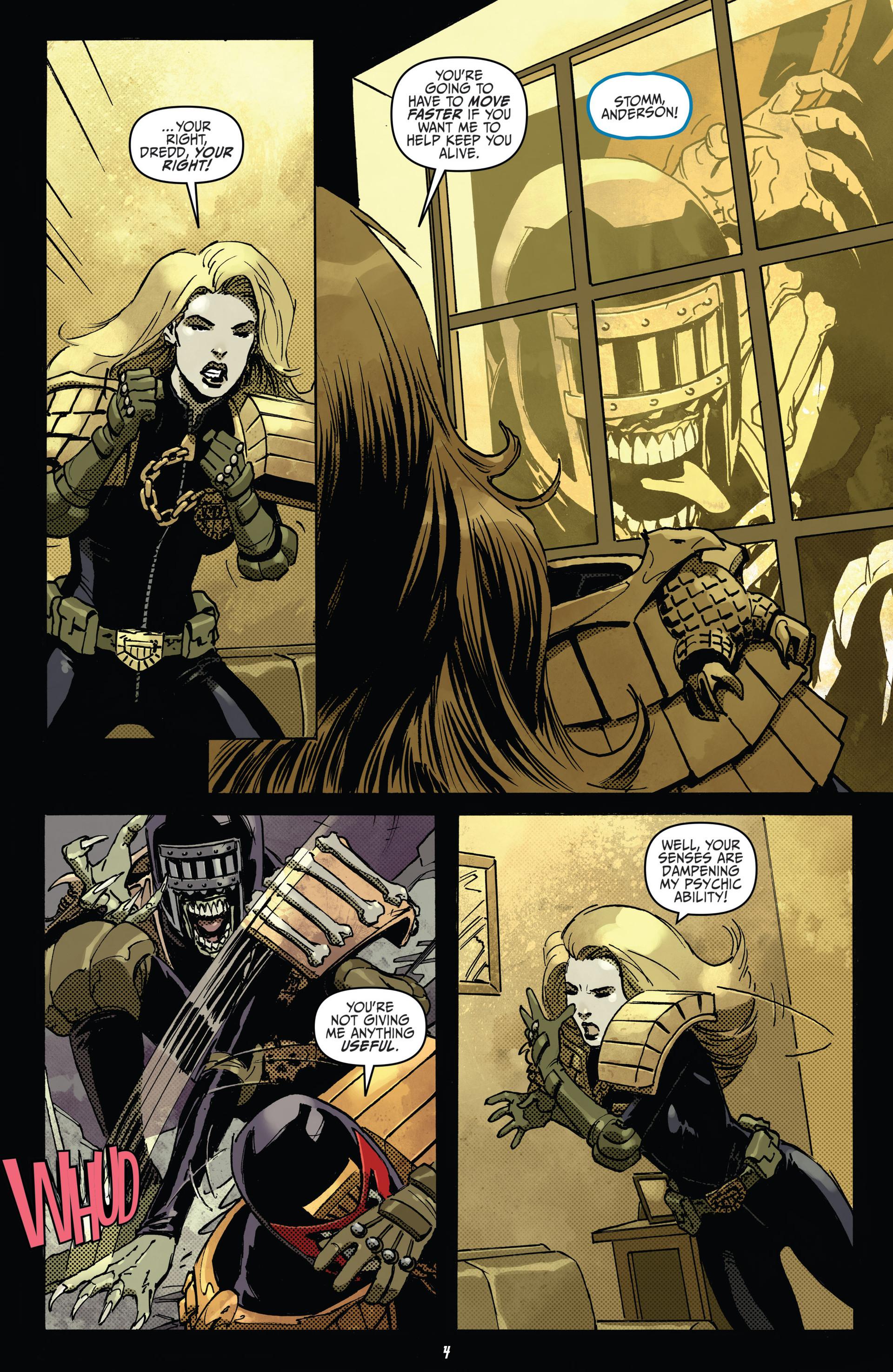 Read online Judge Dredd (2012) comic -  Issue #22 - 6