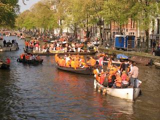 Día de la Reina en Amsterdam