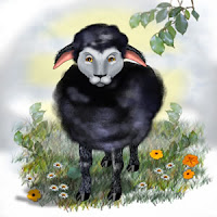 Baa Baa Black Sheep Nursery Kids Rhyming poem