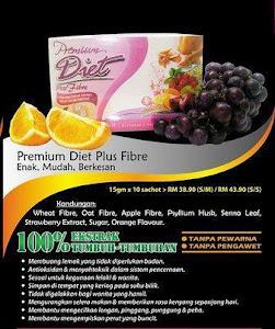 De'Herbs Premium Diet Plus Fibre