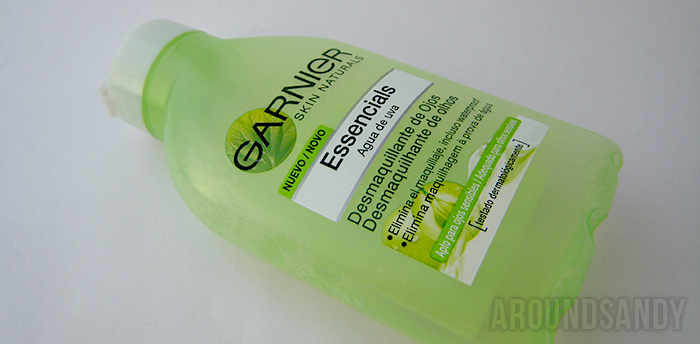 Garnier desmaquillante agua de uva