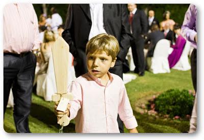 regalos niño boda