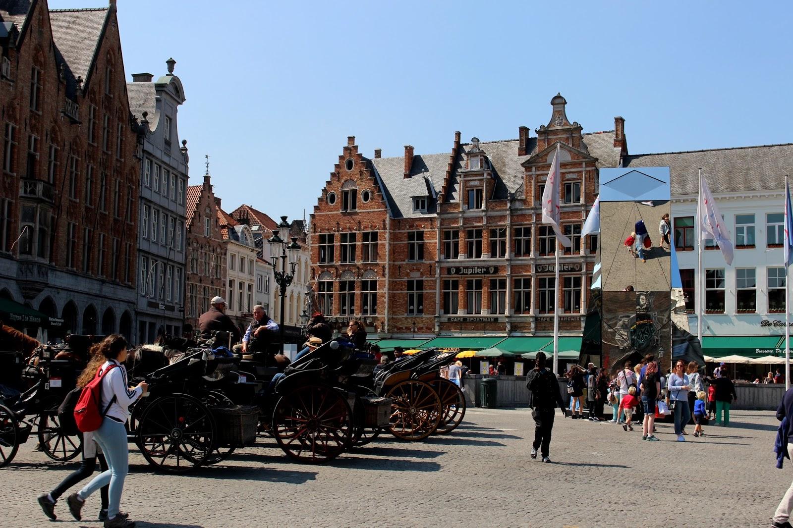 Bruges Belgium Summer