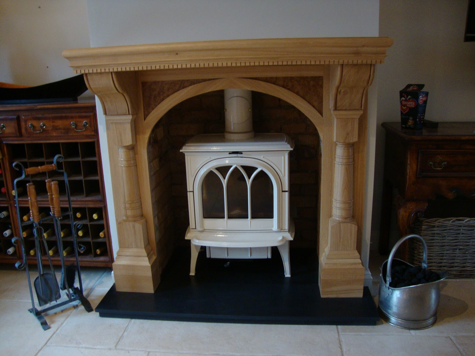 oak fire surround u2013 mark rhodes