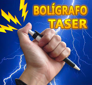 bolígrafo de choques eléctricos