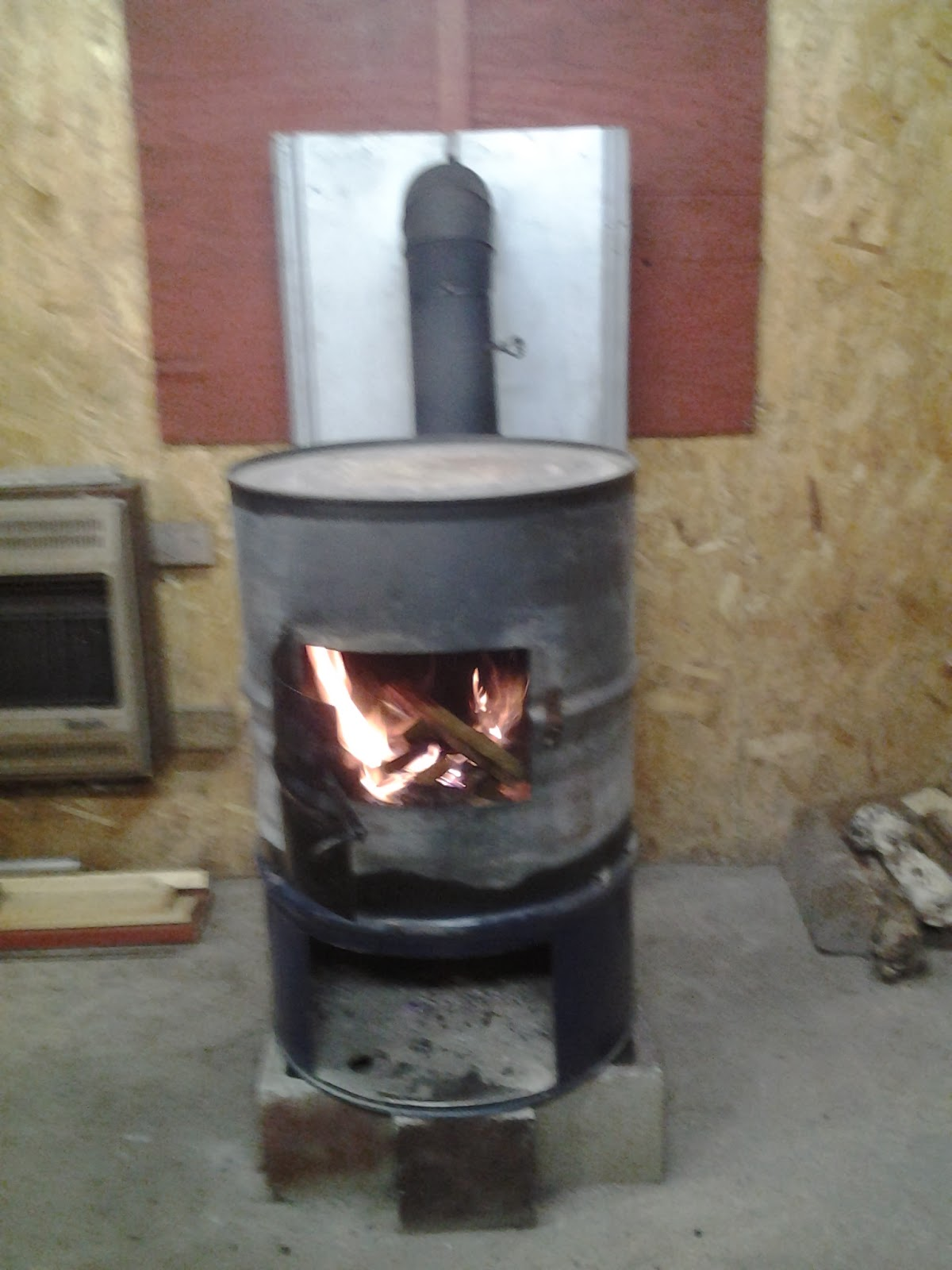 55 Gallon Drum Heater Wood Stove 1200x1600 · 55 Gallon Drum Rocket Stove  Related Keywords & Suggestions 600x800 - 55 Gallon Drum Stove Pictures To Pin On Pinterest - PinsDaddy