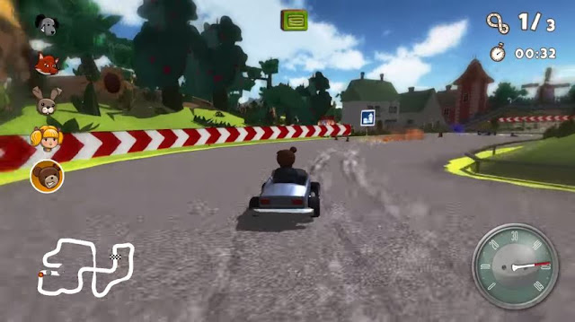 Teddy Floppy Ear: The Race Screenshot 2