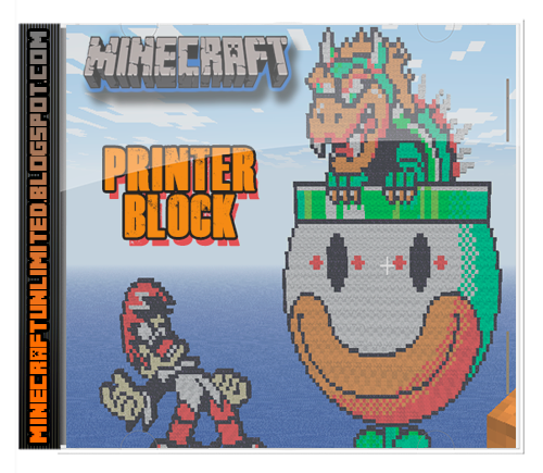 Printer Block Mod Minecraft