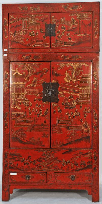 Arredare etnico arredamento etnico cinese - Mobili cinesi laccati ...