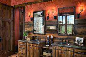 If Your Home Has More Than One Rustic Bathroom Decor Ideas, You Might Have  One For The Master Bedroom, One (or More) For The Other Bedrooms, And  Possibly A ...