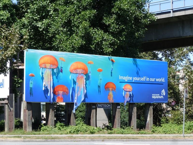 Vancouver Aquarium billboard