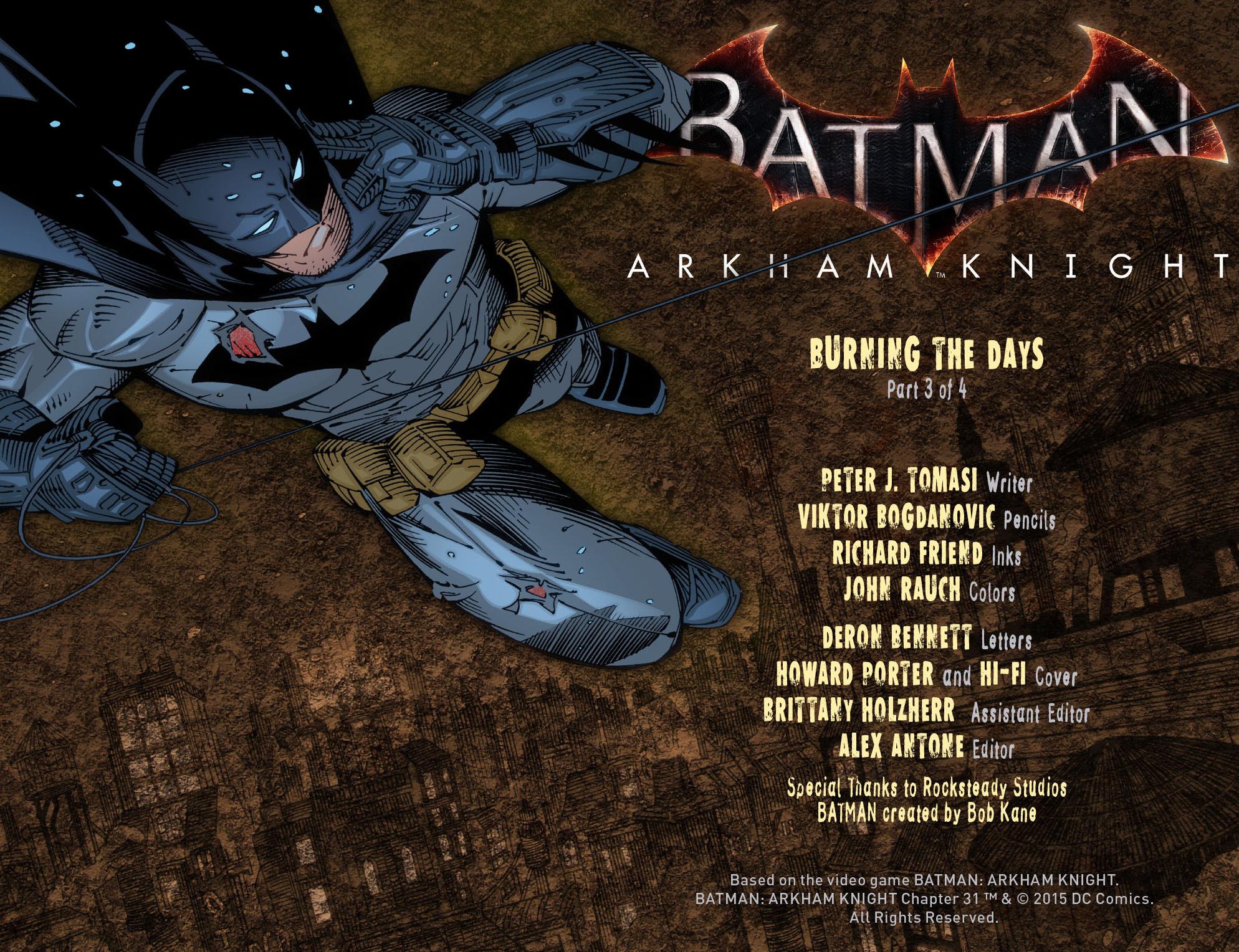 Batman: Arkham Knight [I] Issue #31 #33 - English 2