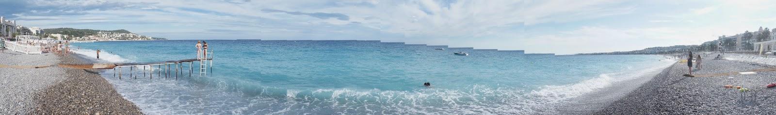 Панорам Пляжа Ниццы