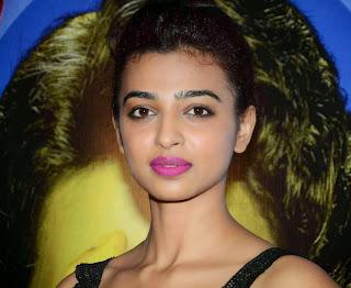Radhika Apte Spicy Pics from Hunterr Hindi Movie Success Party