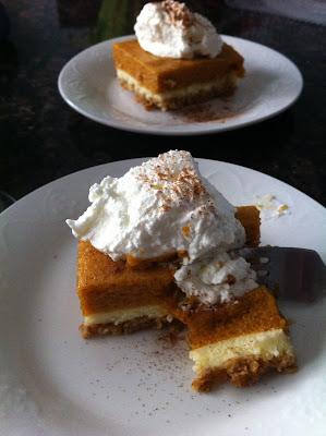 Pumpkin Mousse Cheesecake / My Sweet Zepol #fall #pumpkin