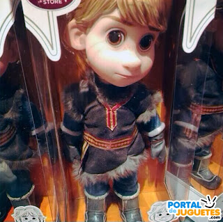 muñeco kristoff coleccion disney animators frozen
