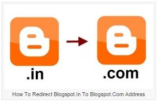 How to Redirection to Blogger .in to Blogger.com – Code