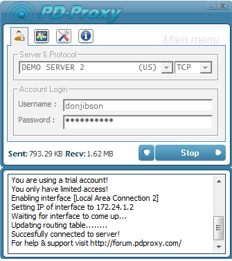 Mtn bis with pdproxy vpn software