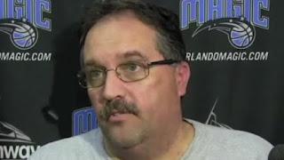 Orlando Magic coach Stan Van Gundy said Thursday he has been told by