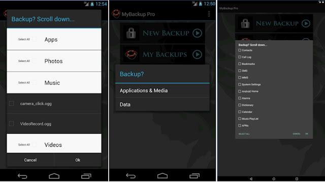 My Backup Pro v4.4.6 APK backup solution