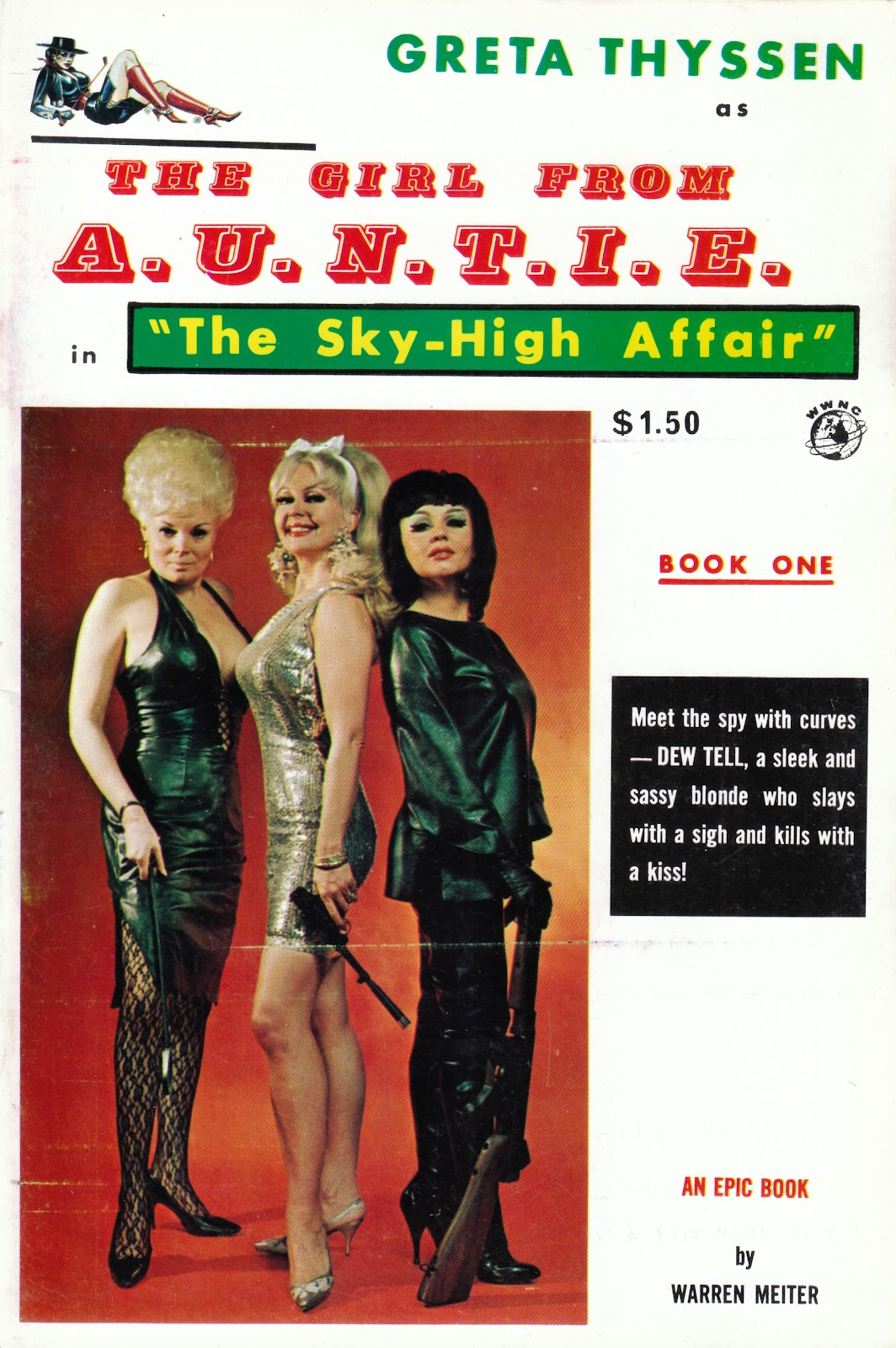 Worst Crossdressing Spy Novel in HISTORY Starring a Three Stooges