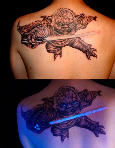 Tattoo Unit Bisa Bersinar