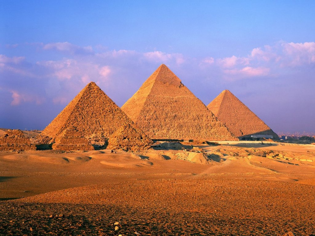 Great Pyramids Giza Egypt