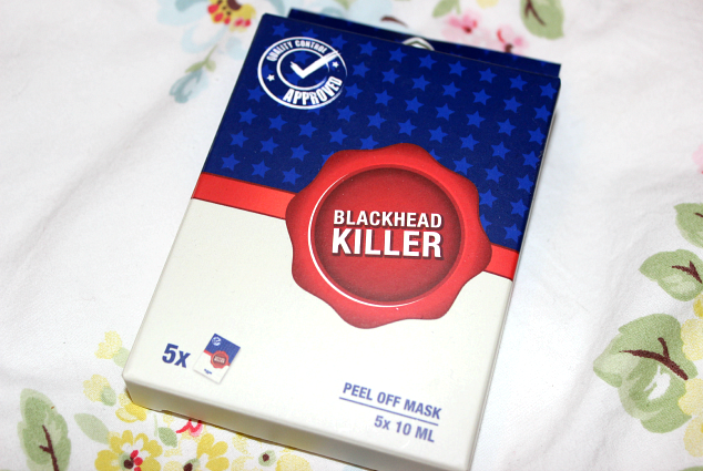 Blackhead killer mask peel off review