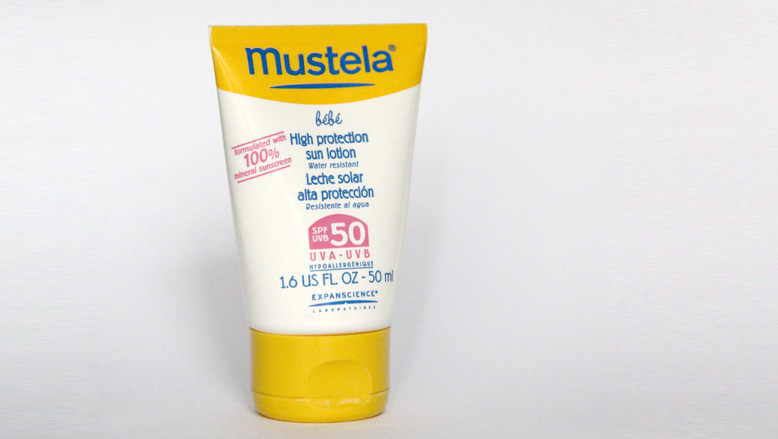Mustela sunscreen