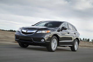 Batman's SUV?  Smart money says its the RDX