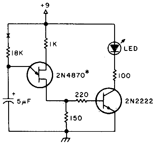 simple equipment on reminder circuit diagram