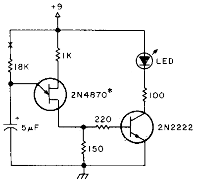 Equipment on reminder Circuit Diagram