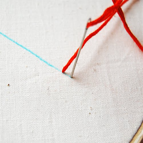 The Craftinomicon Embroidery How To Backstitch