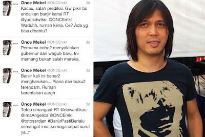 Warner, Tunda, Aktiviti, Bawa, Fans, Jumpa, Once, Di, Jakarta, Artis Indonesia, Hiburan, Malaysia