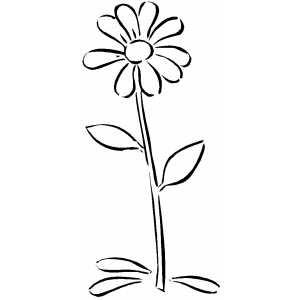 Cartoon daisy flower mightylinksfo