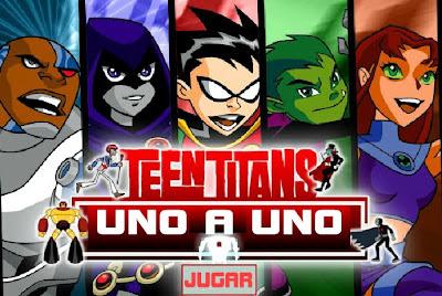El juegos de los Jóvenes Titanes de Cartoon Network . Este juego se ...