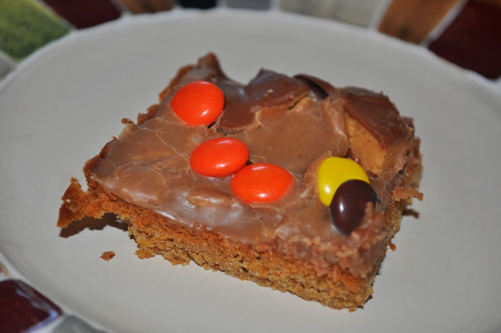 beth 39 s favorite recipes peanut butter bars for jelly roll pan. Black Bedroom Furniture Sets. Home Design Ideas
