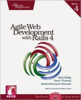Agile Web Development with Rails 4 front cover