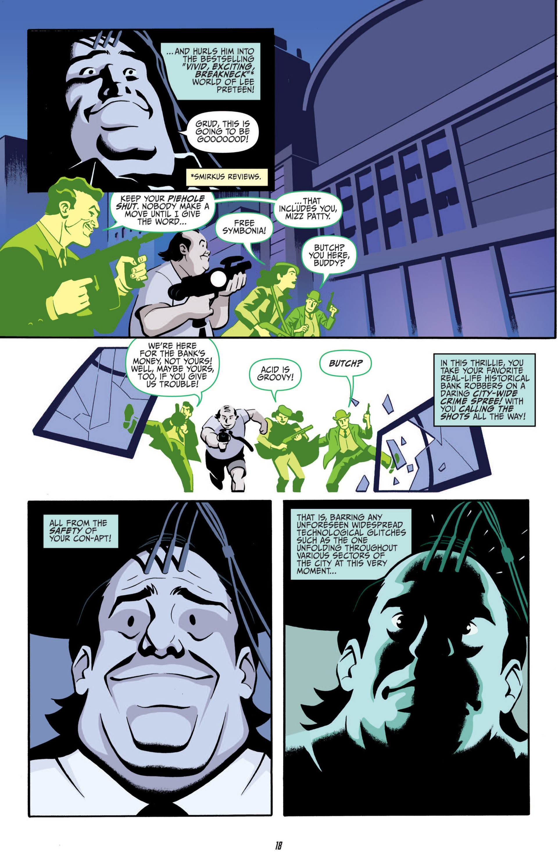 Read online Judge Dredd (2012) comic -  Issue #5 - 20